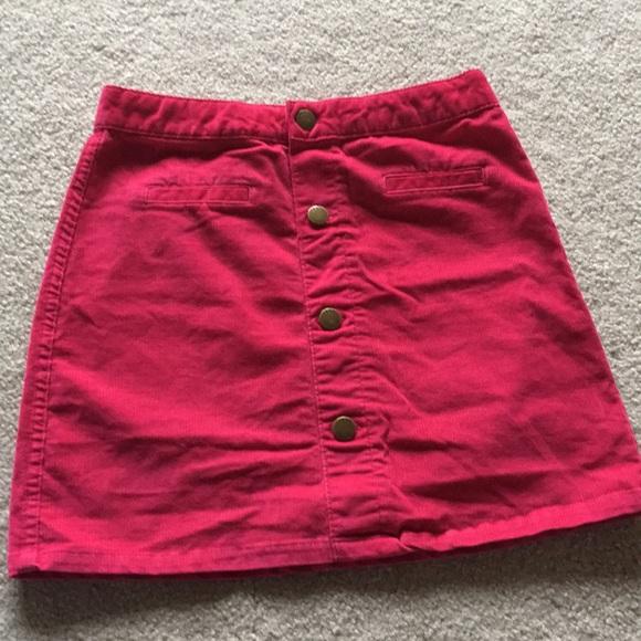 GAP Other - Girls Pink button up skirt